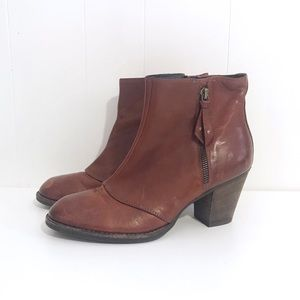 Paul Green Natick Booties Ankle Boots Leather 7.5